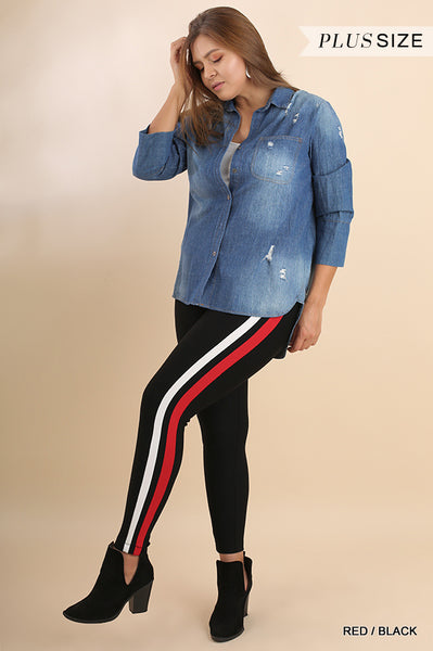 Umgee Leggings Stripes