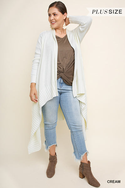 Knit High Low Cardigan