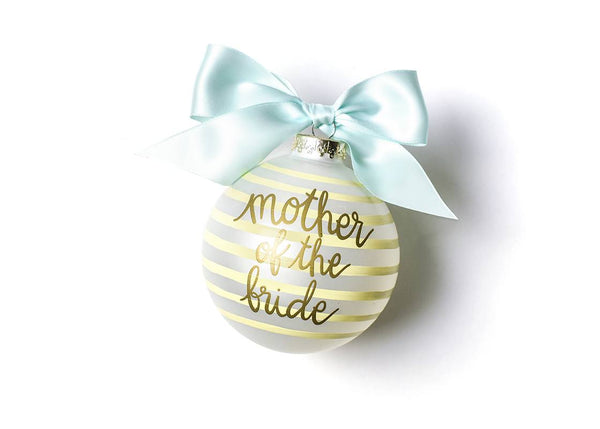 Mother of the Bride Glass Ornament