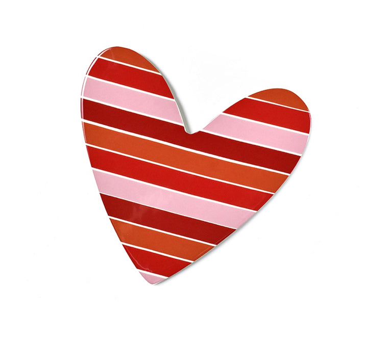 Striped Heart Big Attachment