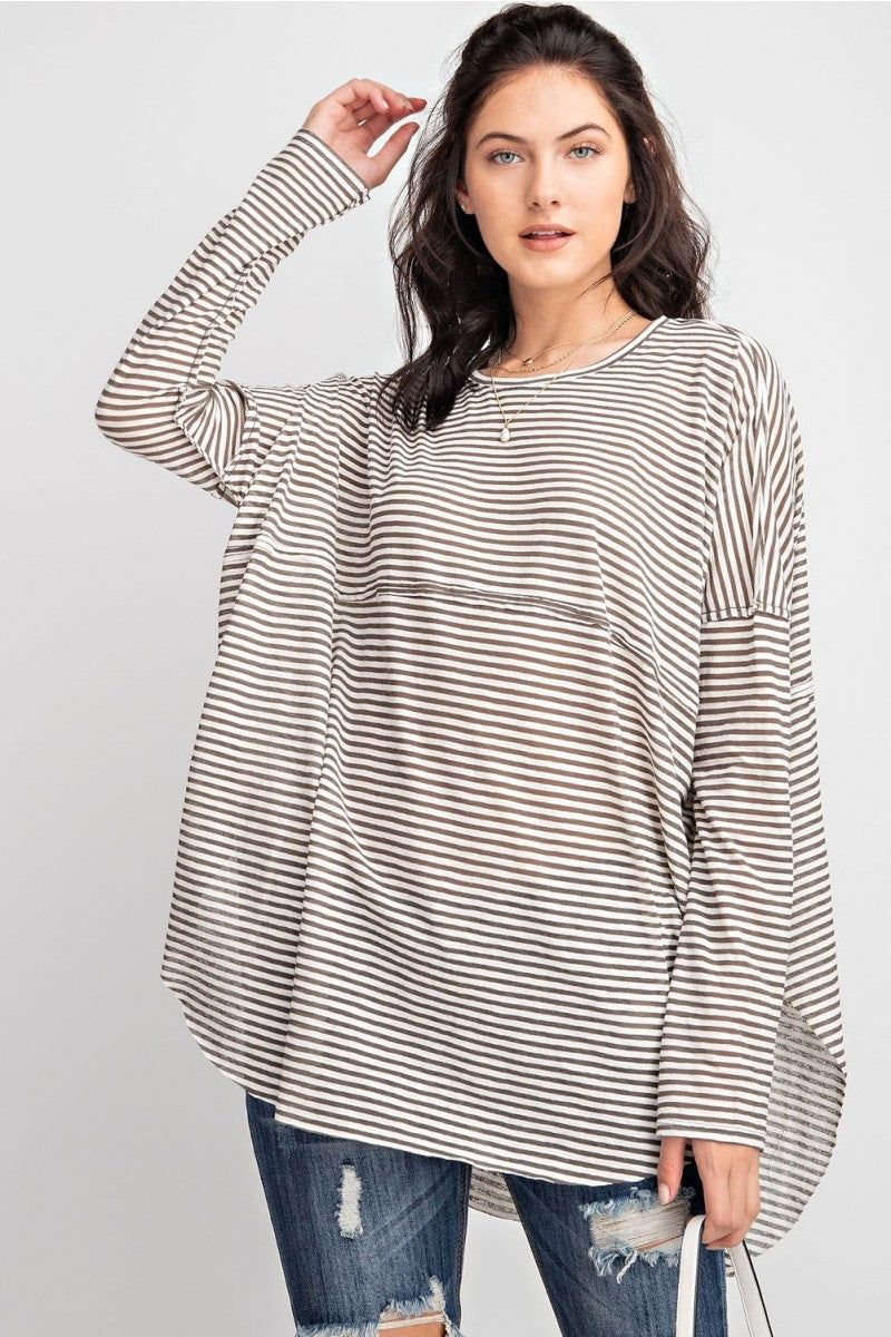 The Arden Stripe Tee