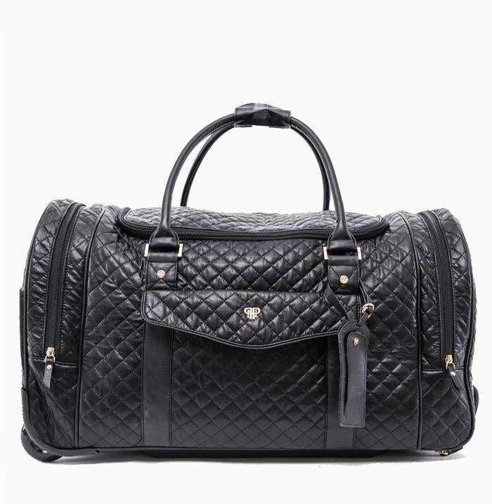 Timeless Quilted VIP Rolling Duffle