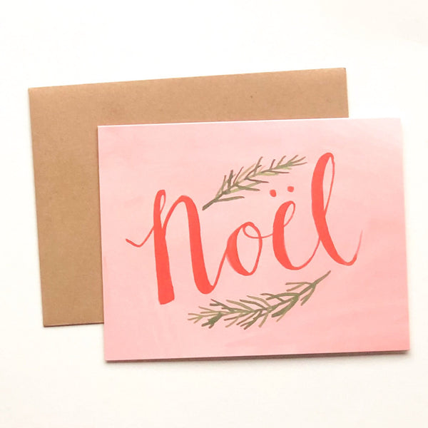 Noel Greeting Card Set