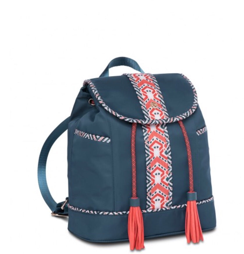 Armada Drawstring Backpack - Navy