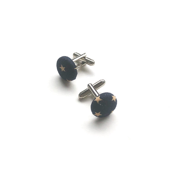 Navy Blue Cuff Links