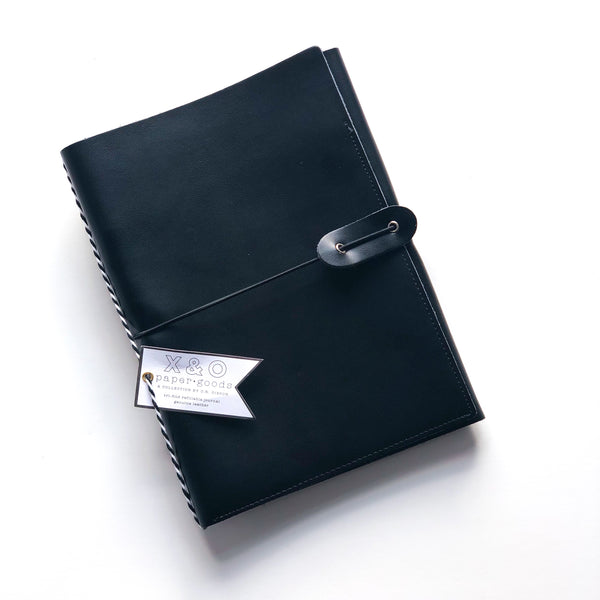 Tri-Fold Refillable Journal