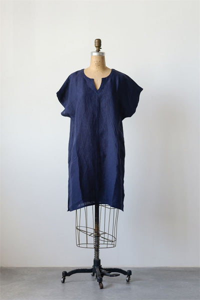 Sophia Linen Shift Dress