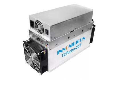 Innosilicon T2 Turbo (T2T) ASIC MINER. Mining Sha-256 algorithm for Bitcoin and BitcoinCash