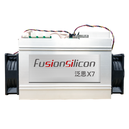 Fusionsilicon X7 ASIC MINER. Mining Equihash algorithm for Dash Coin