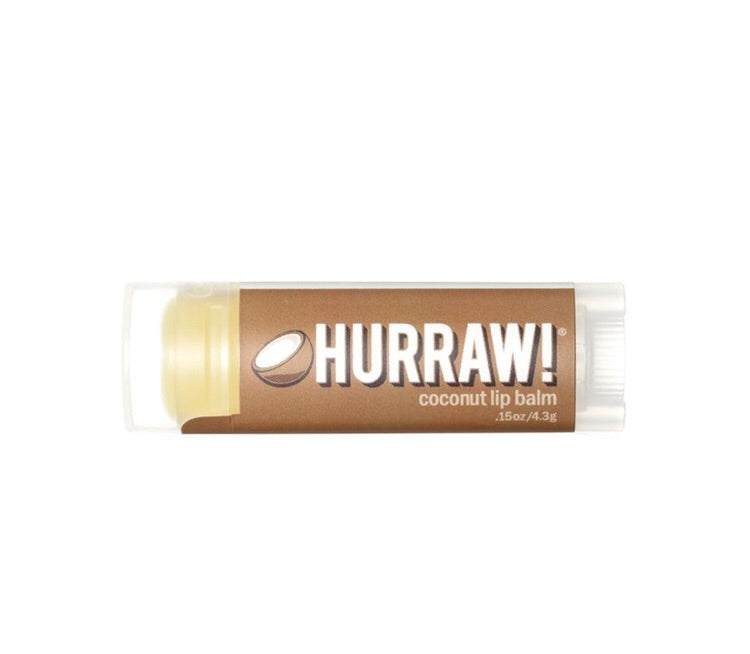 HURRAW COCONUT LIP BALM