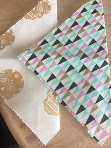 Re usable Beeswax Wraps Large