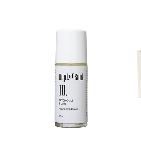 Dept of Soul PATCHOULI & LIME ROLL-ON DEODORANT