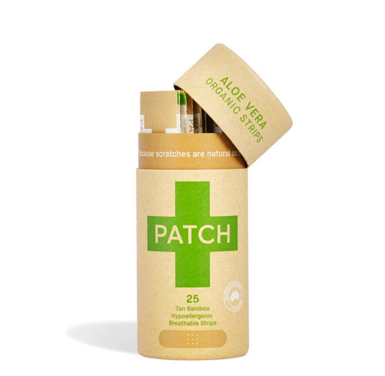 PATCH ALOE VERA ADHESIVE STRIPS -25 TUBE