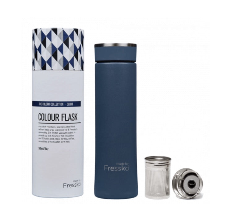 New Stainless Steel Flask Denim 500Ml