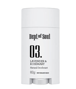 Dept of Soul LAVENDER & ROSEMARY DEODORANT STICK