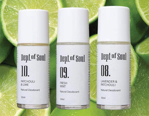 Dept of Soul FRESH MINT ROLL-ON DEODORANT