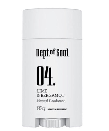 Dept of Soul LIME & BERGAMOT DEODORANT STICK
