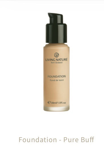 Living Nature Foundation Pure Buff 30 Ml