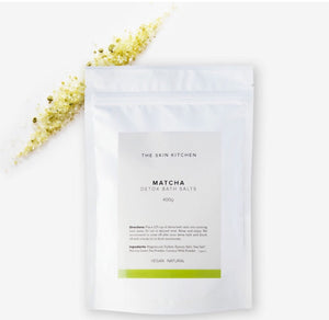 The Skin Kitchen Matcha Detox Bath Salts