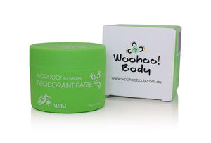 Woohoo All Natural Deodorant Paste (Wild) 70g