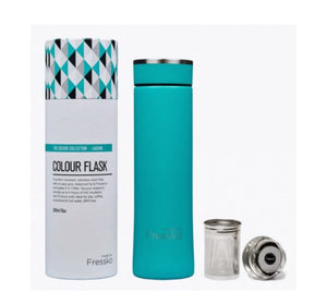 MADE BY FRESSKO NEW STAINLESS STEEL FLASK LAGOON 500ML