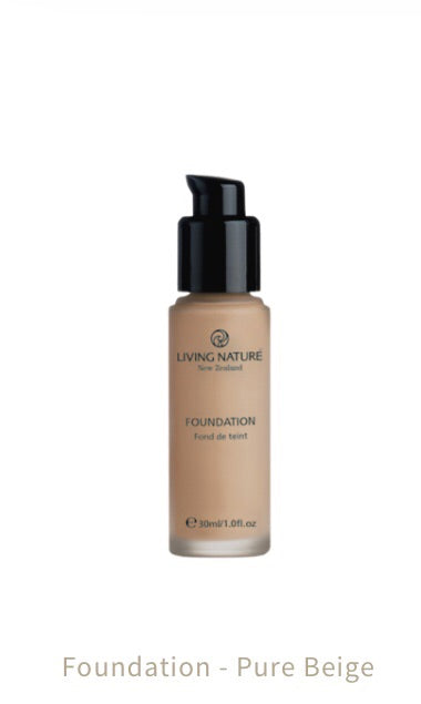 Living Nature-Foundation Pure Beige 30ml