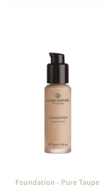 Living Nature Foundation Pure Taupe 30 ml