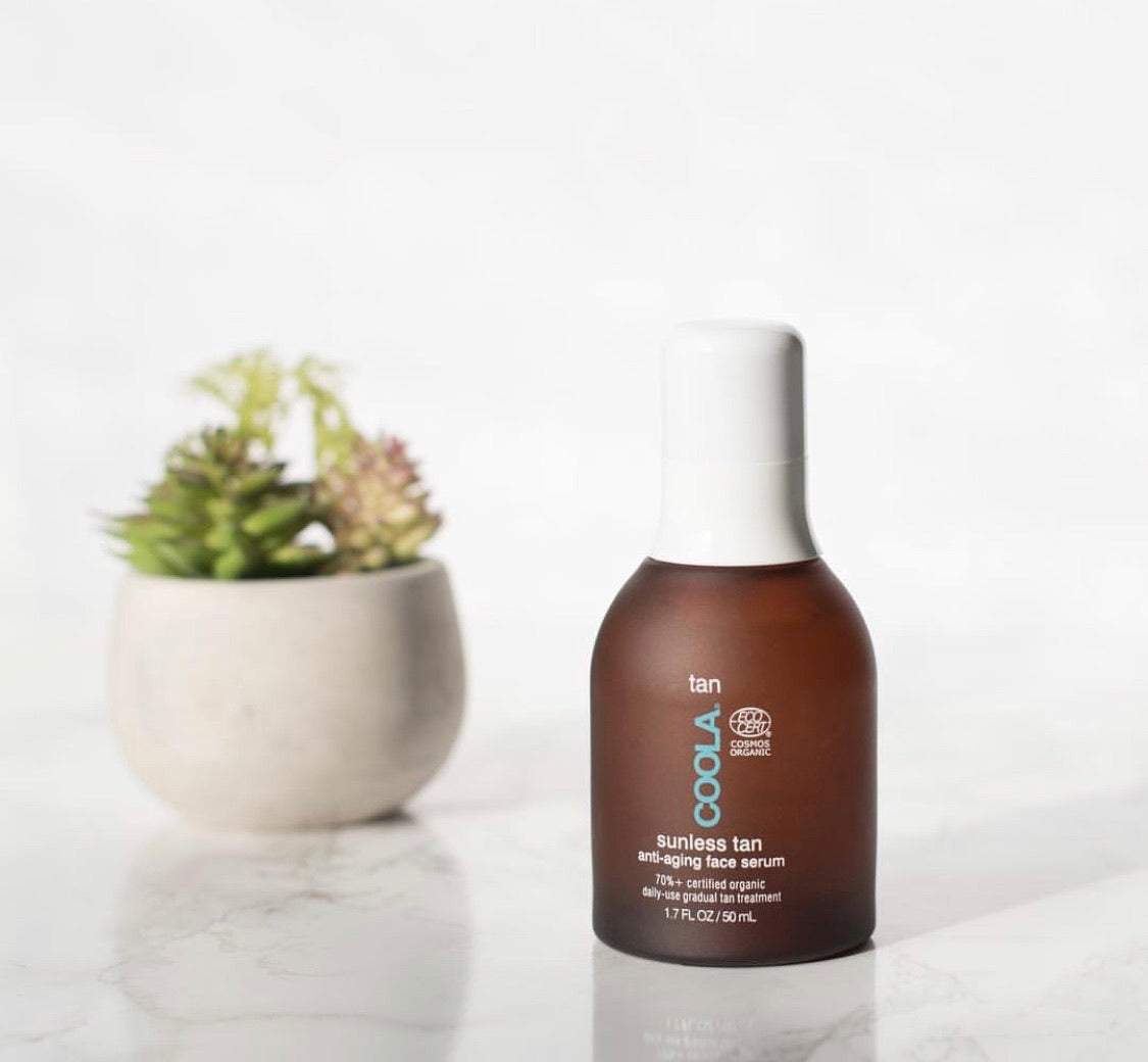 Sunless Tanning Ant-Aging Face Serum
