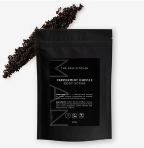 The Skin Kitchen Peppermint Coffee Body Scrub