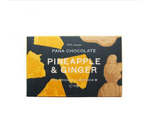 PINEAPPLE & GINGER PANA CHOCOLATE