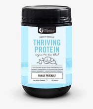Load image into Gallery viewer, Nutra Organics Thriving Protein Smooth Vanilla 450g