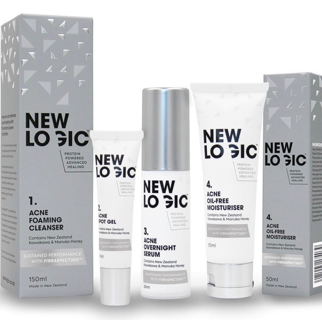 New Logic Acne 4 Step System