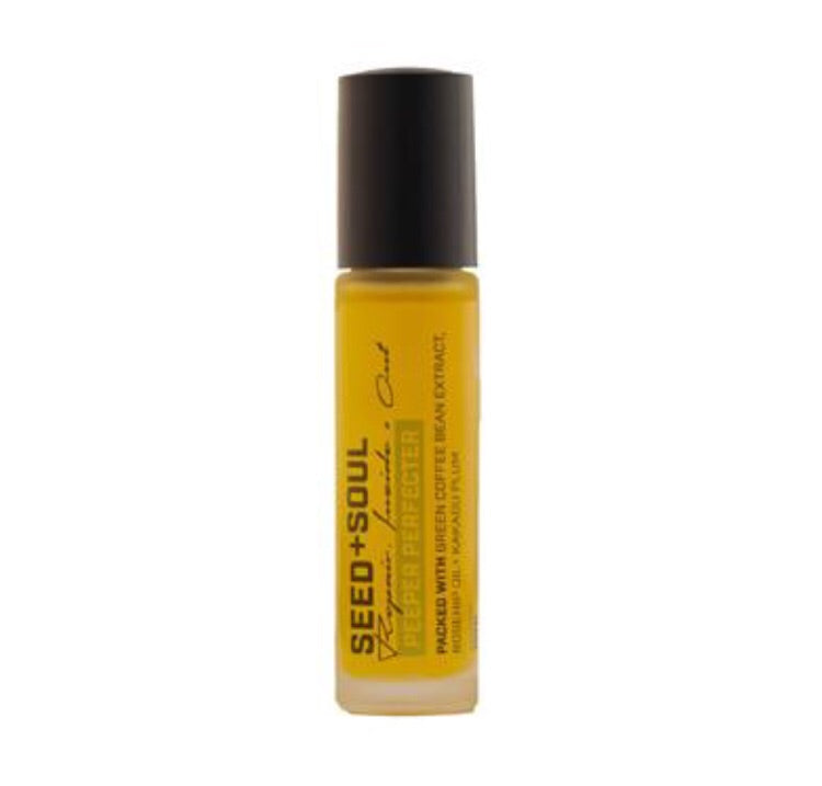 Seed + Soul Peeper Perfecter, Coffee Under-Eye Oil 10ml