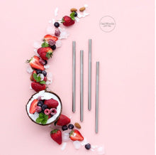 Load image into Gallery viewer, CaliWoods Reusable Smoothie Straws!