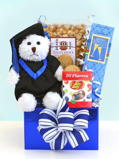 Beary Happy Graduation Gift Basket