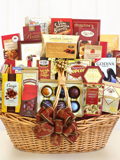 California Grand Gourmet Holiday Gift Basket