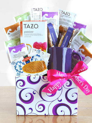 Mother's Day Tea Time Gift Basket