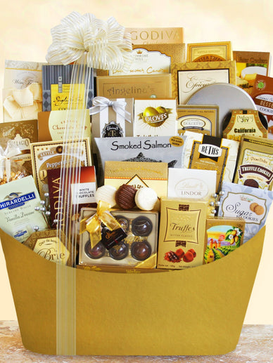 I'm Dreaming of a White Christmas Gourmet Gift Basket