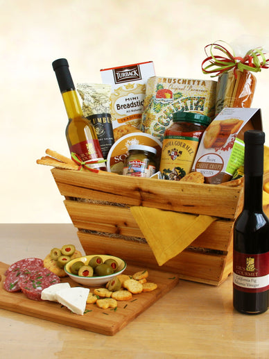 Tuscan Delight Holiday Gift Basket