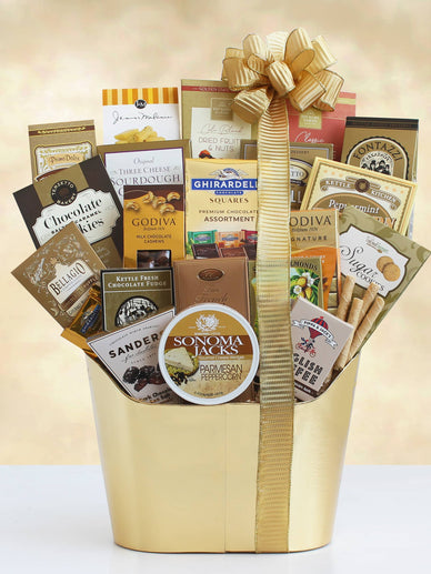 Golden State Gourmet Holiday Gift Basket