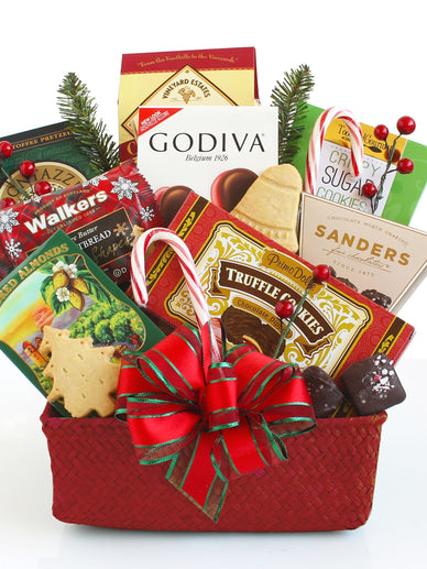 Sweet and Savory Christmas Gift Basket