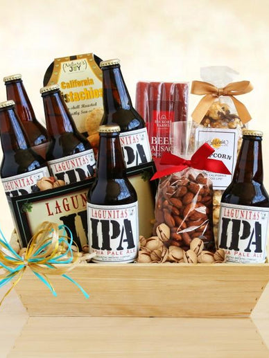 A Taste of California Craft Beer Lagunitas IPA Gift Basket