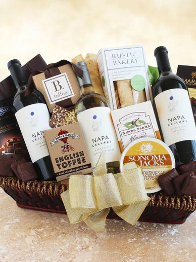 Napa Valley California Wine Gift Basket