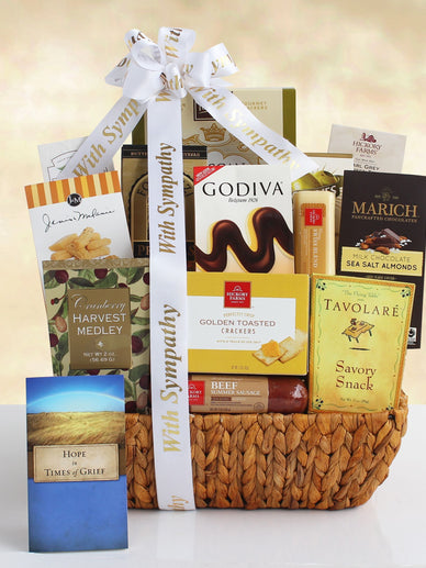 Condolences and Sympathy Gift Basket