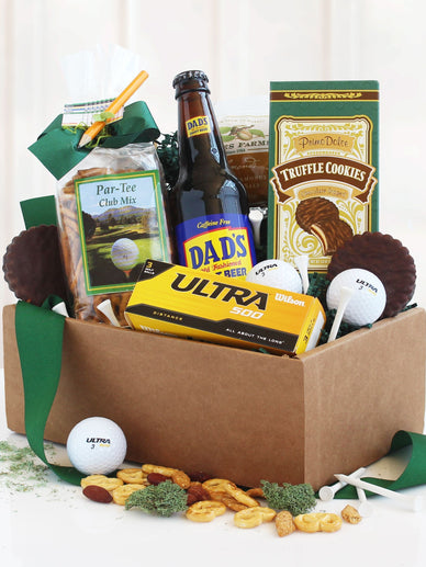 Golf and Goodies Gourmet Gift Basket