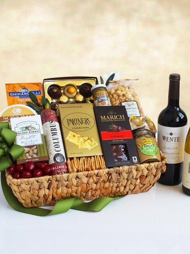California's Best Wine and Gourmet Gift Basket