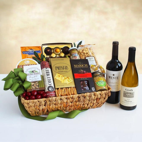 Best of the West Gourmet Wine Gift Basket