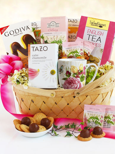 Mother's Day Tea and Sweets Gift Basket