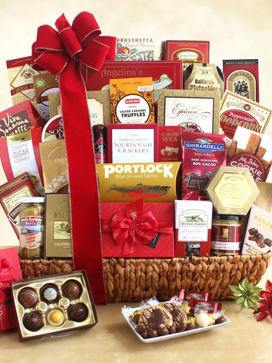 Home for the Holiday Celebration Gourmet Gift Basket