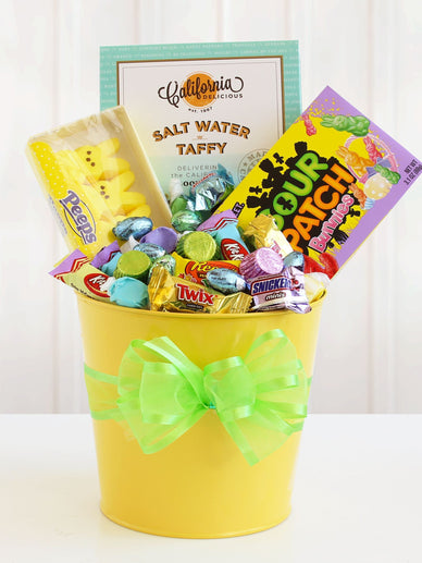 Easter Springtime Sweets Gift Bucket